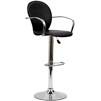 Modway Captain Bar Stool in Black  sc 1 st  Amazon.com : captains chair bar stool - islam-shia.org