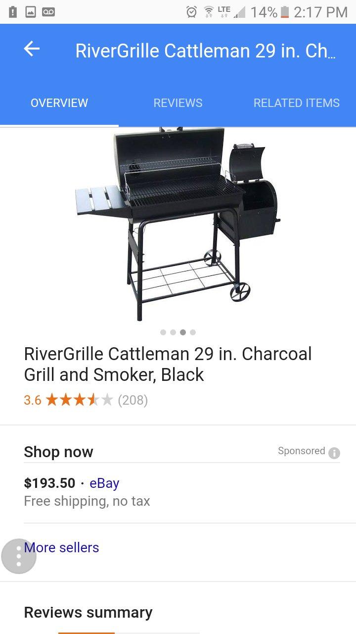 Amazon.com: rivergrille 29 inch Grill & Fumador: Jardín y ...
