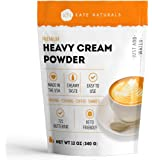 Heavy Cream Powder for Whipping Cream, Sour Cream, Butter, and Coffee. Keto Friendly and Gluten Free. 1-Year Guarantee…