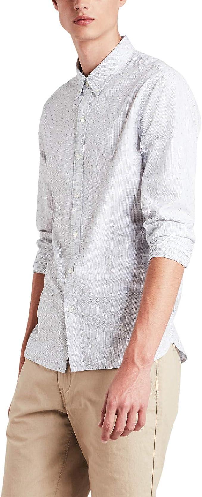 Camisa Levis Pacific Mole Blanco Hombre M Blanco: Amazon.es: Ropa y accesorios