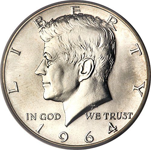 1964 Kennedy 90% Silver Half Dollar Brilliant Uncirculated