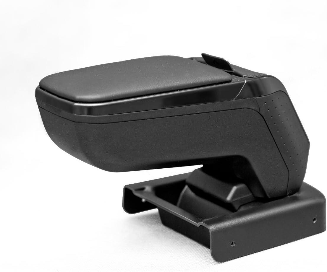 mit USB-Anschluss und AUX Armster AR9 Armlehne f/ür Ford Connect II 2013- Schwarz