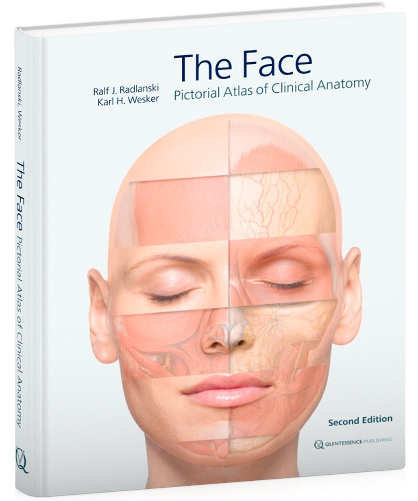 The Face Pictorial Atlas Of Clinical Anatomy Amazon Ralf J