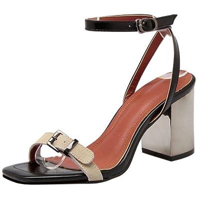 Zanpa Damen Sandalen Sommer Schuhe