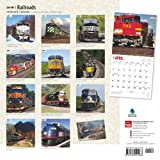 Railroads 2016 Square 12x12 (Multilingual Edition)