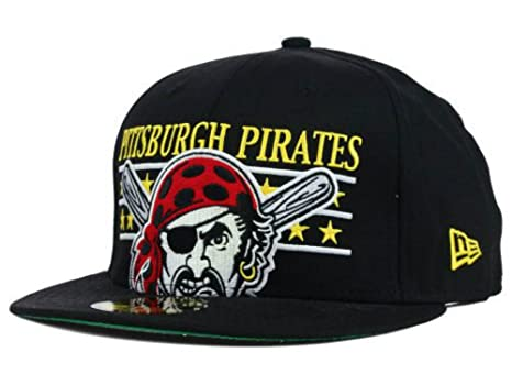 8ffc44f2 Amazon.com: Pittsburgh Pirates Fitted Size 7 5/8 Hat Star Studded ...