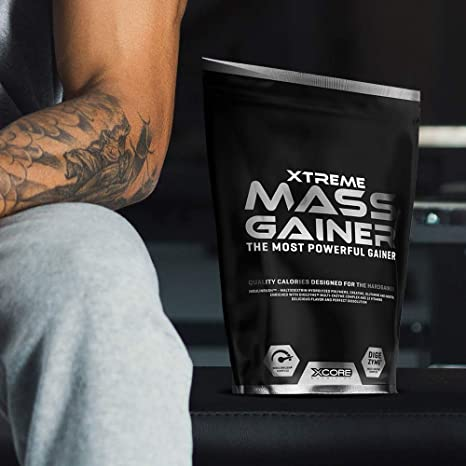 Xcore Nutrition Xtreme Mass Gainer, Vainilla - 2722 gr