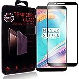 Oneplus 5T Pellicola Protettiva, Ycloud Full Coverage vetro Temperato, Ultra Trasparente, Anti-Graffio Applicare a Oneplus 5T - Nero