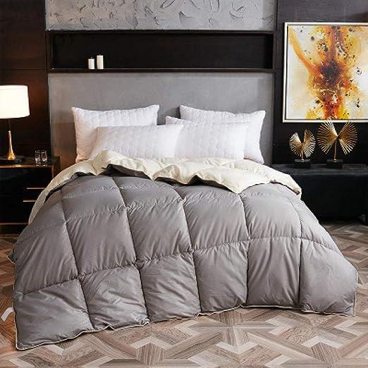 Relleno NóRdico SintéTico,Edredón de edredón de edredón de invierno de ganso / pato blanco de alto grado Relleno de manta con cubierta de algodón Twin Full Queen King Size-180x220cm 3kg_Tipo 5: Amazon.es: