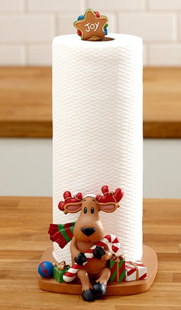 Holiday Reindeer Paper Towel Holders