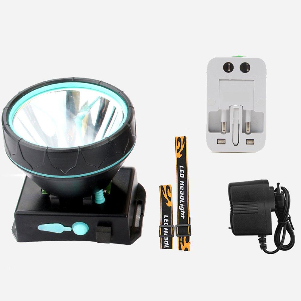 MLMHLMR Scheinwerfer Blendung Wiederaufladbare Superhelle Fernbereich Kopf-Taschenlampe Taschenlampe
