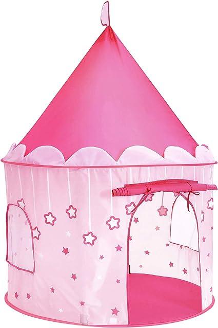 Bleu Hztyyier Tente de Jeu pour Filles Tente de Jeu Princess Castle Grande Tente de Jeu Pliable Playhouse pour samuser /à lint/érieur et /à lext/érieur