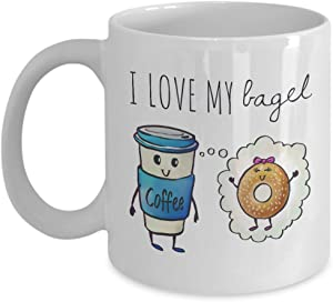 Coffee Meets Bagel, I love my Bagel, His Mug