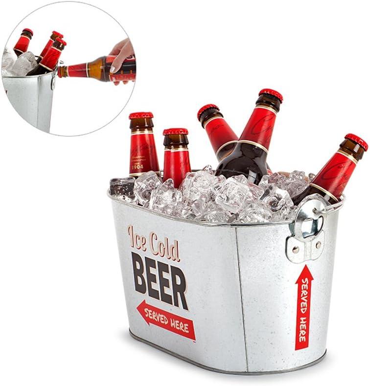 Balvi Enfriador de Metal para Cerveza Fiestas