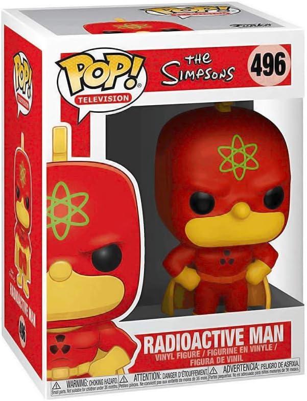 Funko- Pop Vinilo: Simpsons S2: Homer-Radioactive Man Figura Coleccionable, Multicolor (37690)