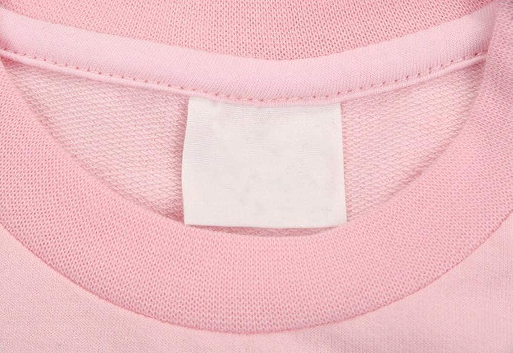 RJXDLT Kids Sweatshirt Long Sleeve Cotton Girls Zip-Up Hoodie Pullover Tops