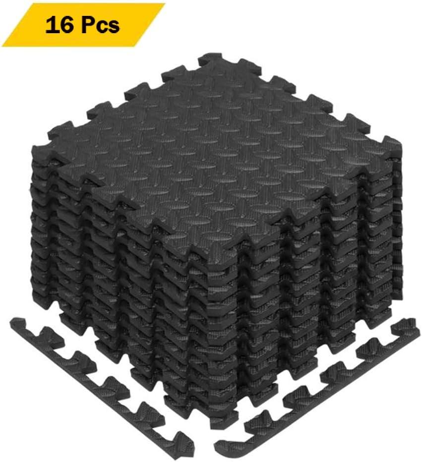 60CM Interlocking Soft Foam Floor Mats Gym Flooring EVA Puzzle Rubber Yoga Tile