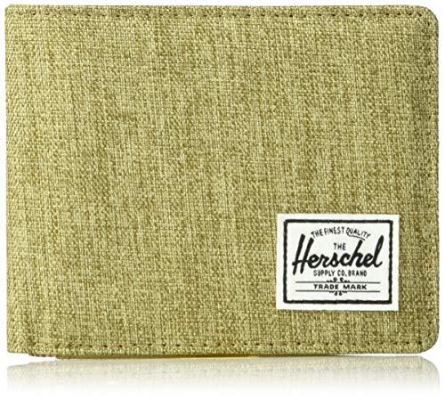 Herschel Supply Co. Men's Roy RFID, Crosshatch/kelp, One Size