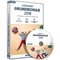 FRANZIS Lernpaket Grundschule (2018), Deutsch/Englisch/Mathe, E-Learning Windows Software für Kinder Software