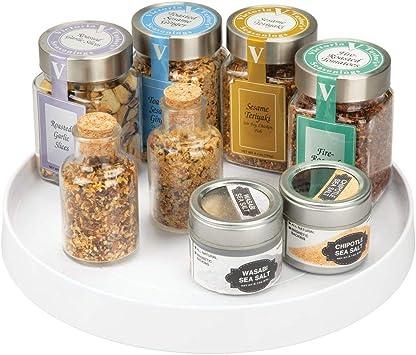 Eight Drawers Condiment Seasoning Bottle Storage Box Spice Jars Rack Organizer