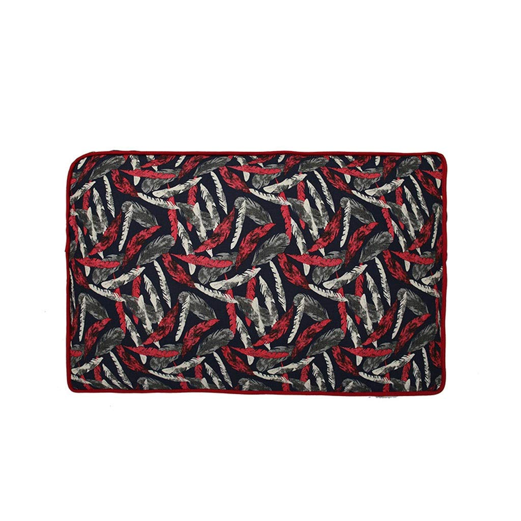 Red L 100657cmPet Mattress Pet Mat Pads Warm Soft Detachable Washable For Puppy Small Medium Large Dog (color   Red, Size   L 100  65  7cm)