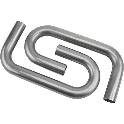 "Combo Exhaust Pipe Mandrel Bend/Header Tubing, 2-1/2"" Inch, Pair: Automotive"