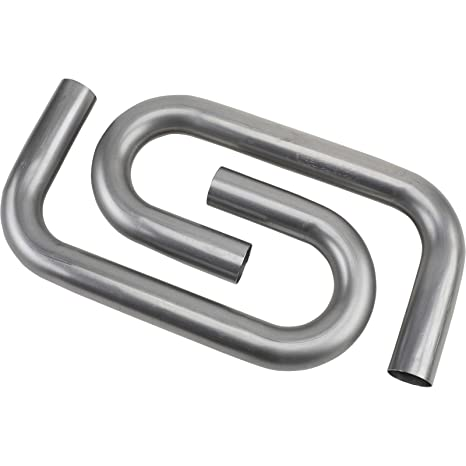 Combo Exhaust Pipe Mandrel Bend/Header Tubing, 2-1/4 Inch, Pair