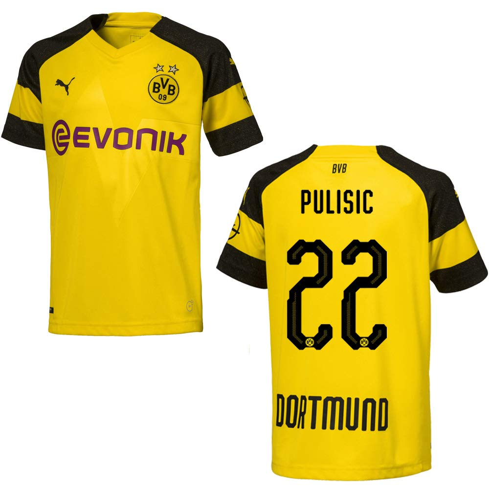 Puma BVB Trikot Home Herren 2019 - PULISIC 22