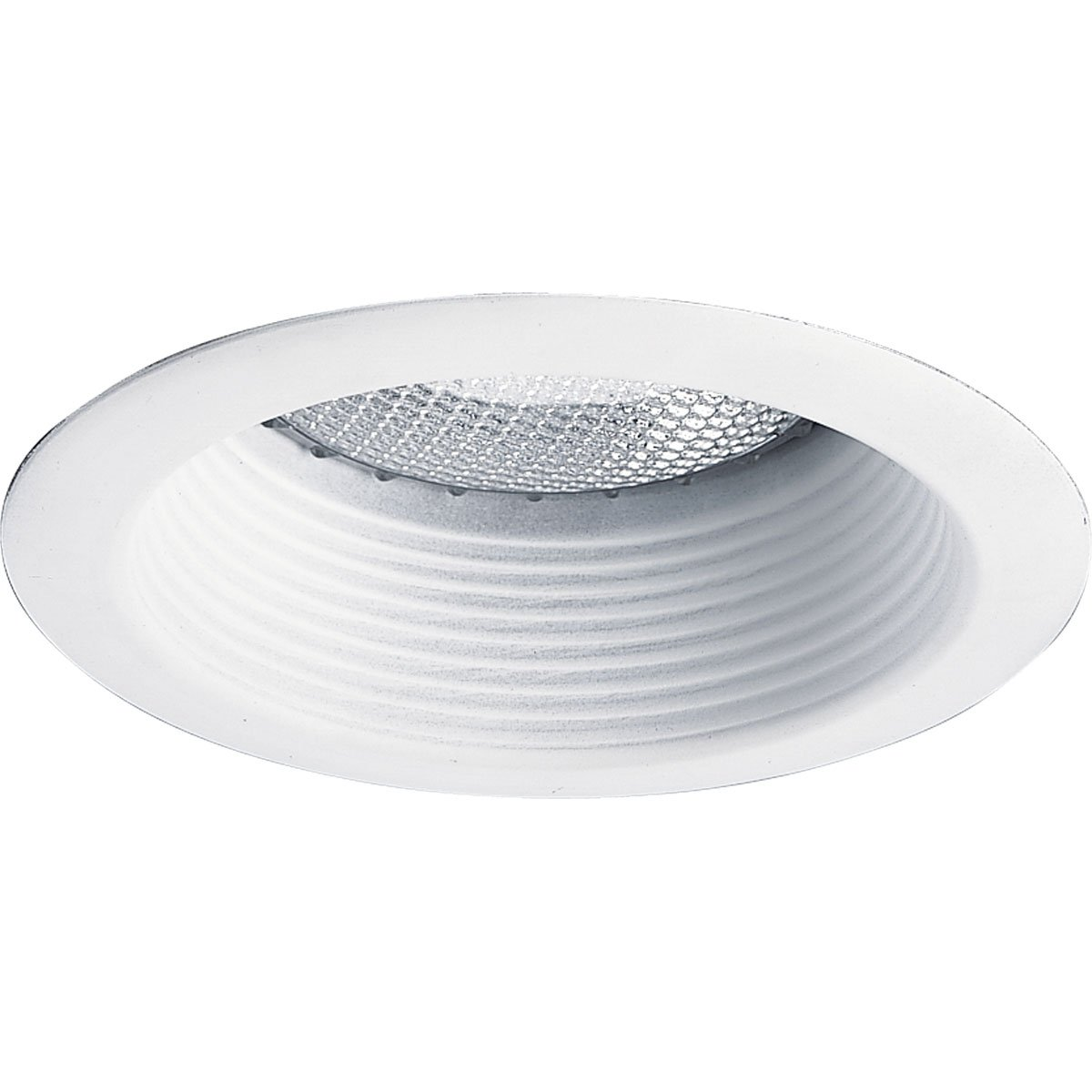 Progress Lighting P8375-28 Bright White 5-Inch Shallow Baffle, Bright White