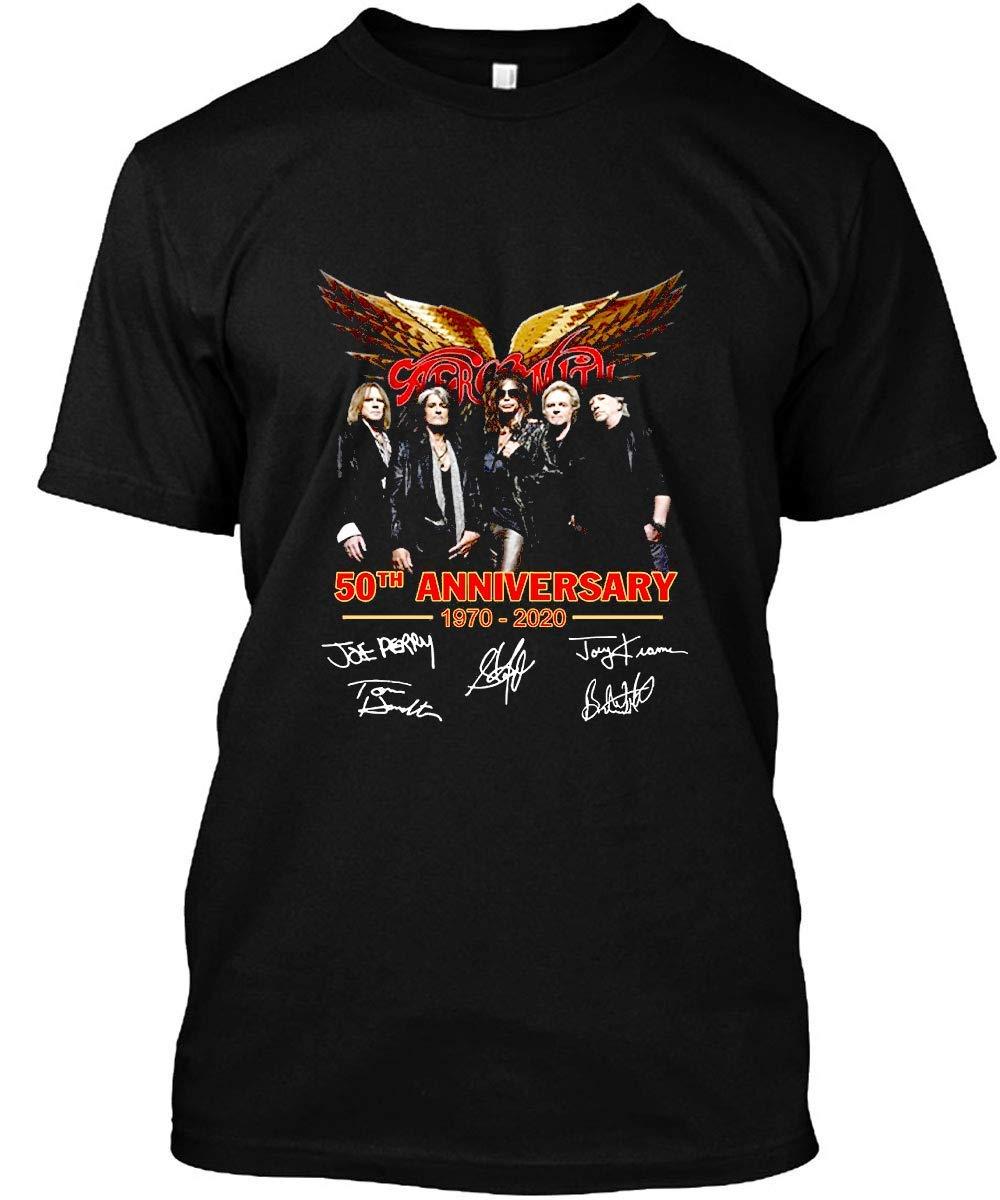 Aerosmith 50th Anniversary 1970 2020 Signature Shirt Unisex Tshirt