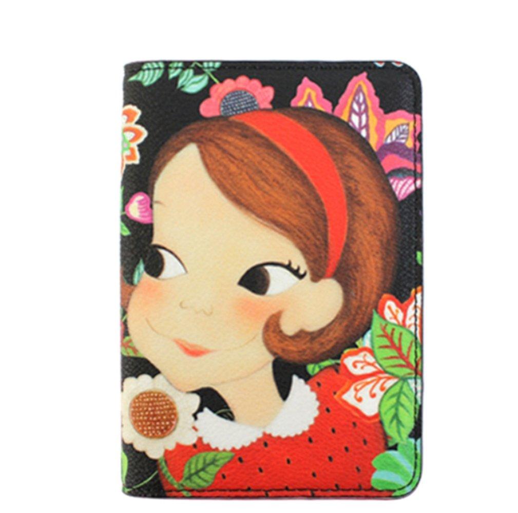 [Youk Shim Won] YSW, Ivy Leather Passport Wallet, Ria #D1092RAIP0F, Korean Artist Design