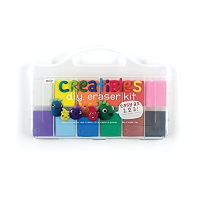 OOLY, Creatibles DIY Erasers, Set of 12 (161-001): International Arrivals: Office Products