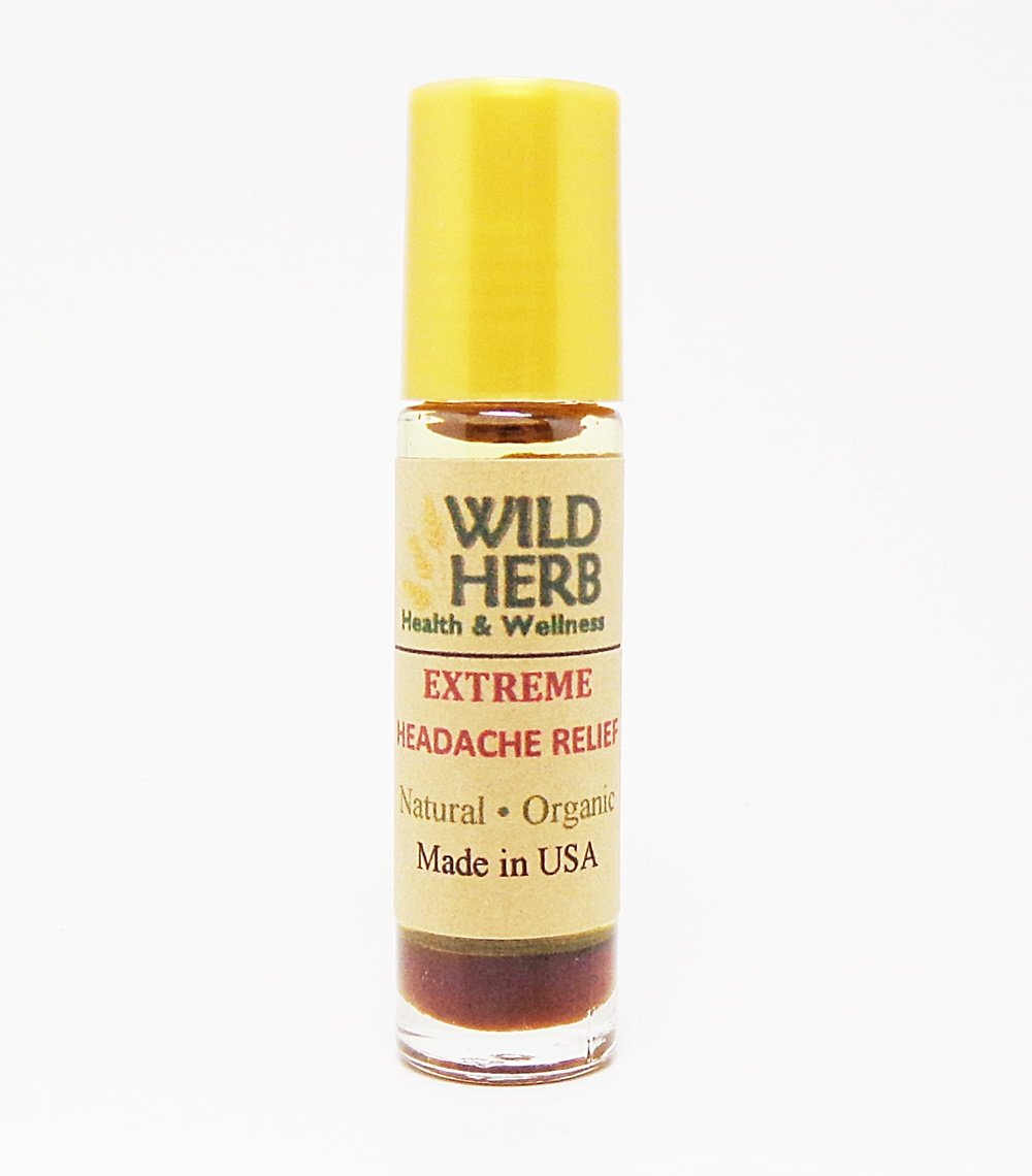 Natural Headache Relief, Extreme Strength