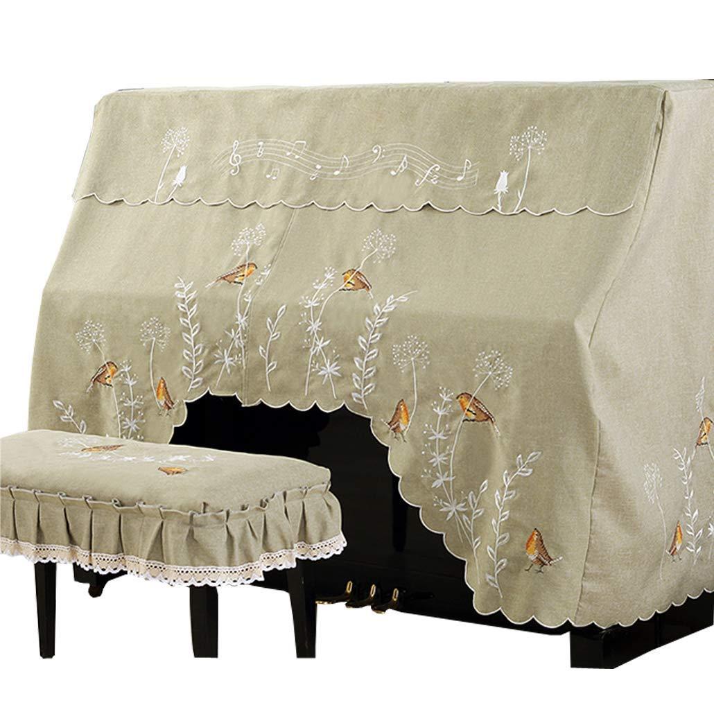 ファッションなデザイン ピアノカバー フルカバー アップライトピアノ 防塵カバー 椅子カバーセット 防塵カバー 刺繍 おしゃれ 可愛い 人気 おしゃれ 人気 YFKNピアノカバー+シングル椅子カバーB0797V51QN, ニカホマチ:400552dc --- a0267596.xsph.ru