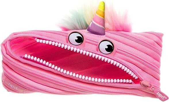 Zipit - Estuche para lápices, diseño de Unicornio, Color Rosa: Amazon.es: Equipaje
