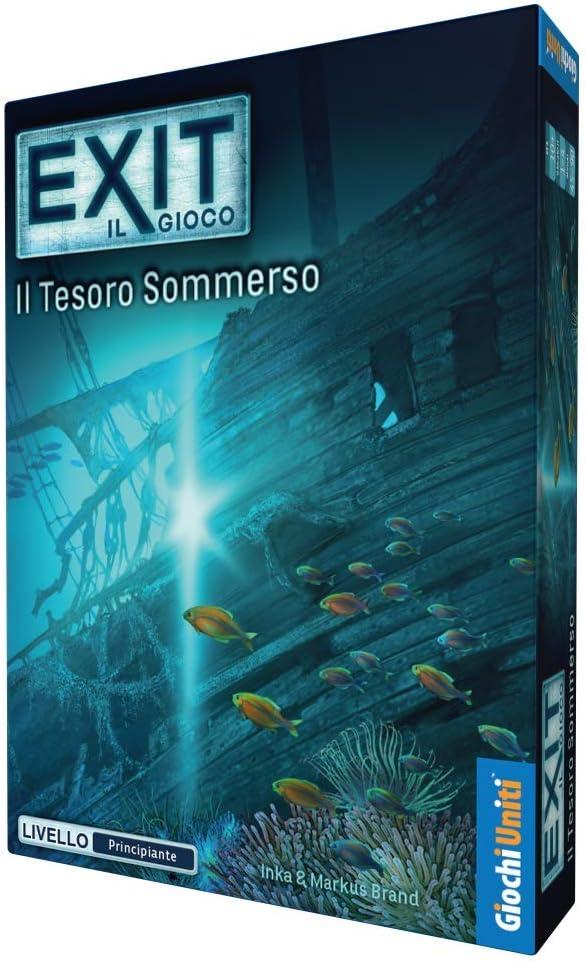 Juegos Unidos – Exit: El Tesoro Un Exceso excape Room,, gu332 ...