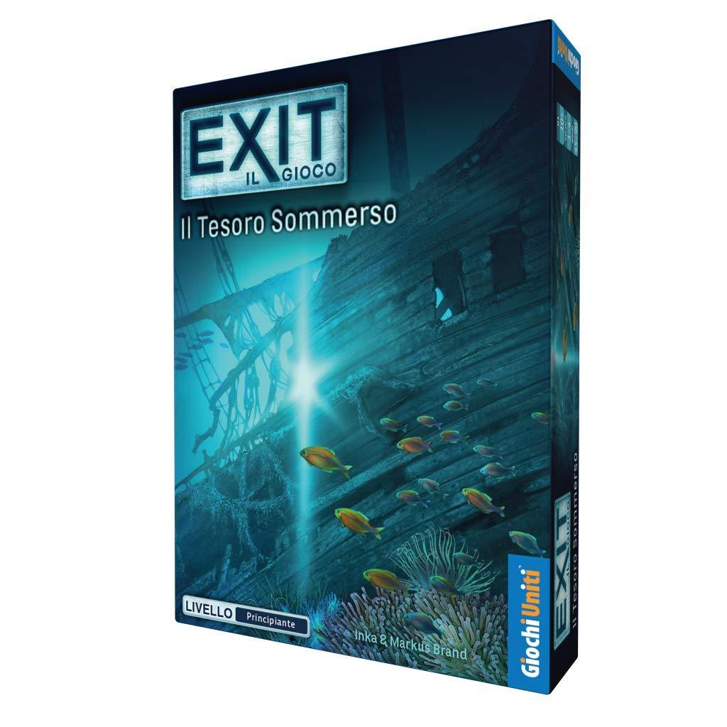 Giochi Uniti Exit GU332 Il Tesoro SOMMERSO Excape Room,
