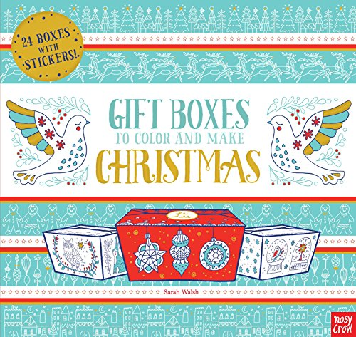 Gift Boxes to Decorate and Make: Christmas -