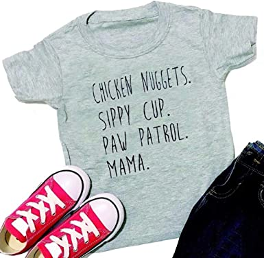 Baby Boy Girls short Sleeve tops Kids Toddlers T-shirt Size 3T-5T