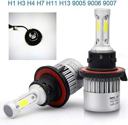BraveWay S2 - Bombillas LED H7 H4 H1 H8 H11 H13 9005 HB3 9006 HB4 ...