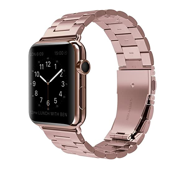 Amazon Com Vipplus Stainless Steel Watch Band Compatible With Apple