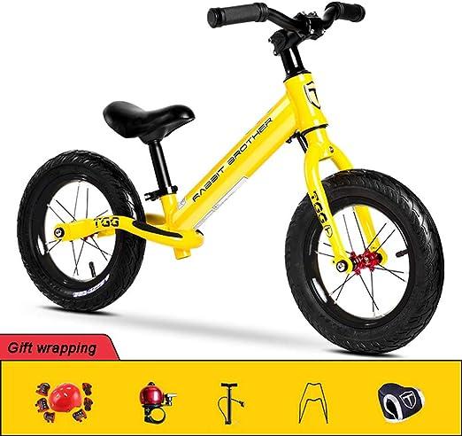 Hxx Bicicleta De Equilibrio para Niños, Diseño Ergonómico Scooter ...