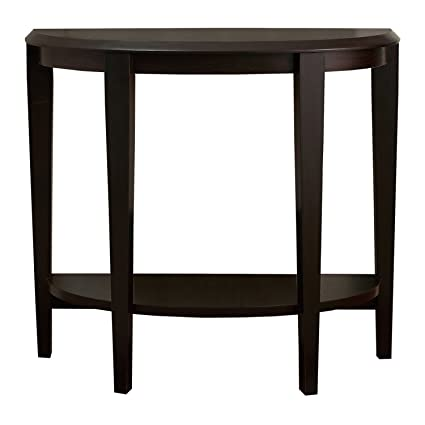 Merveilleux Monarch Specialties Cappuccino Hall Console Accent Table, 36 Inch