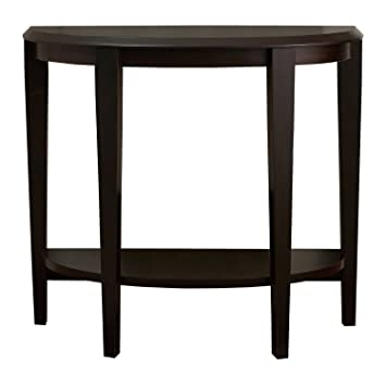 Monarch Specialties I 2450 Cappuccino Hall Console Accent Table, 36u0026quot;