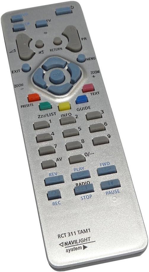 Aerzetix - DIS219 Mando a distancia para televisor compatible con ...