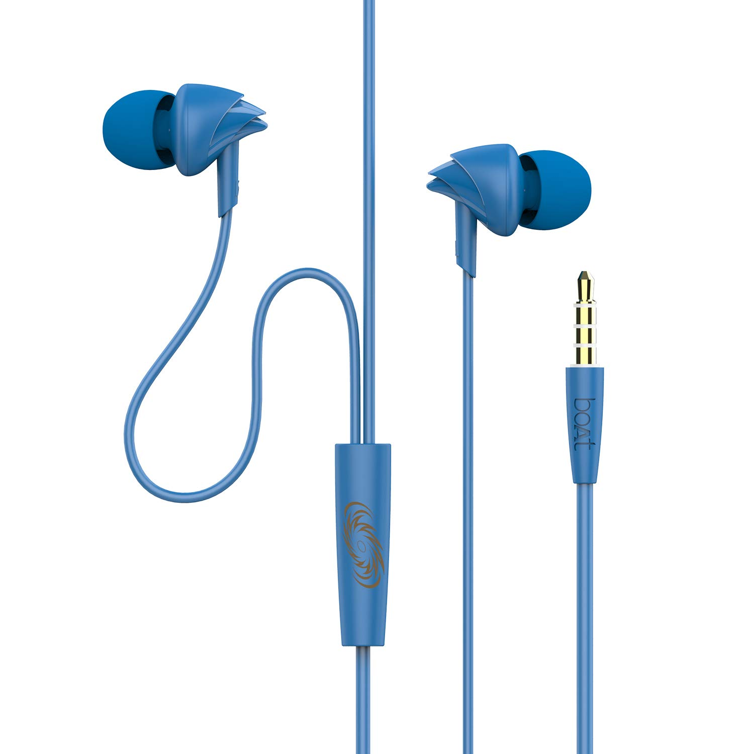boAt Mumbai Indians Edition Bassheads 100 Wired Earphone