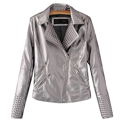 Zhhlaixing Multi-zipper Design Ladies Jacket Locomotive Style Zip PU chaquetas mujer cuero Winter Co...