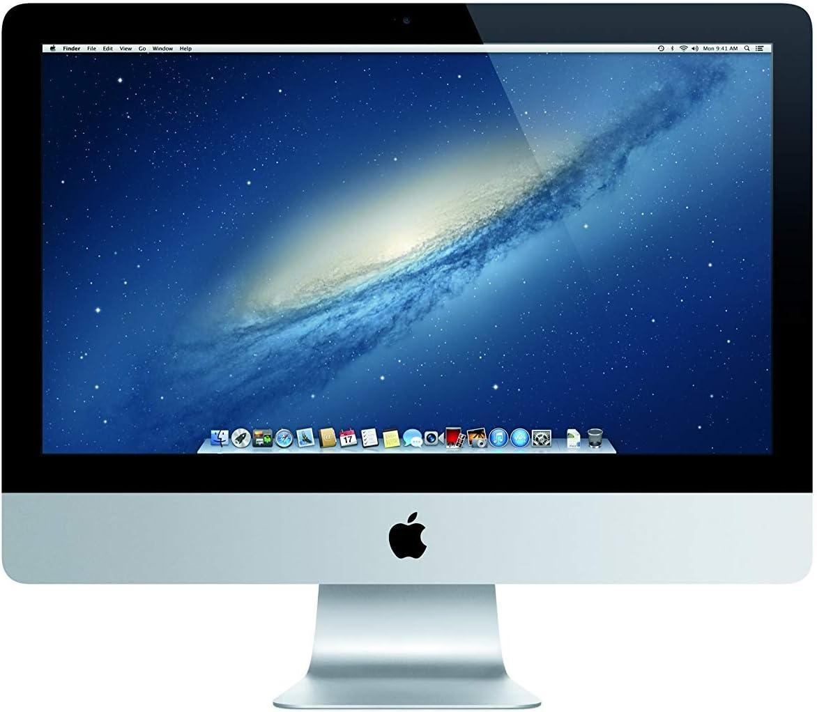 Apple iMac 21.5in 2.7GHz Core i5 (ME086LL/A) All in One Desktop, 8GB Memory, 1TB HDD + 128GB SSD, MacOS 10.12 Sierra (Renewed)