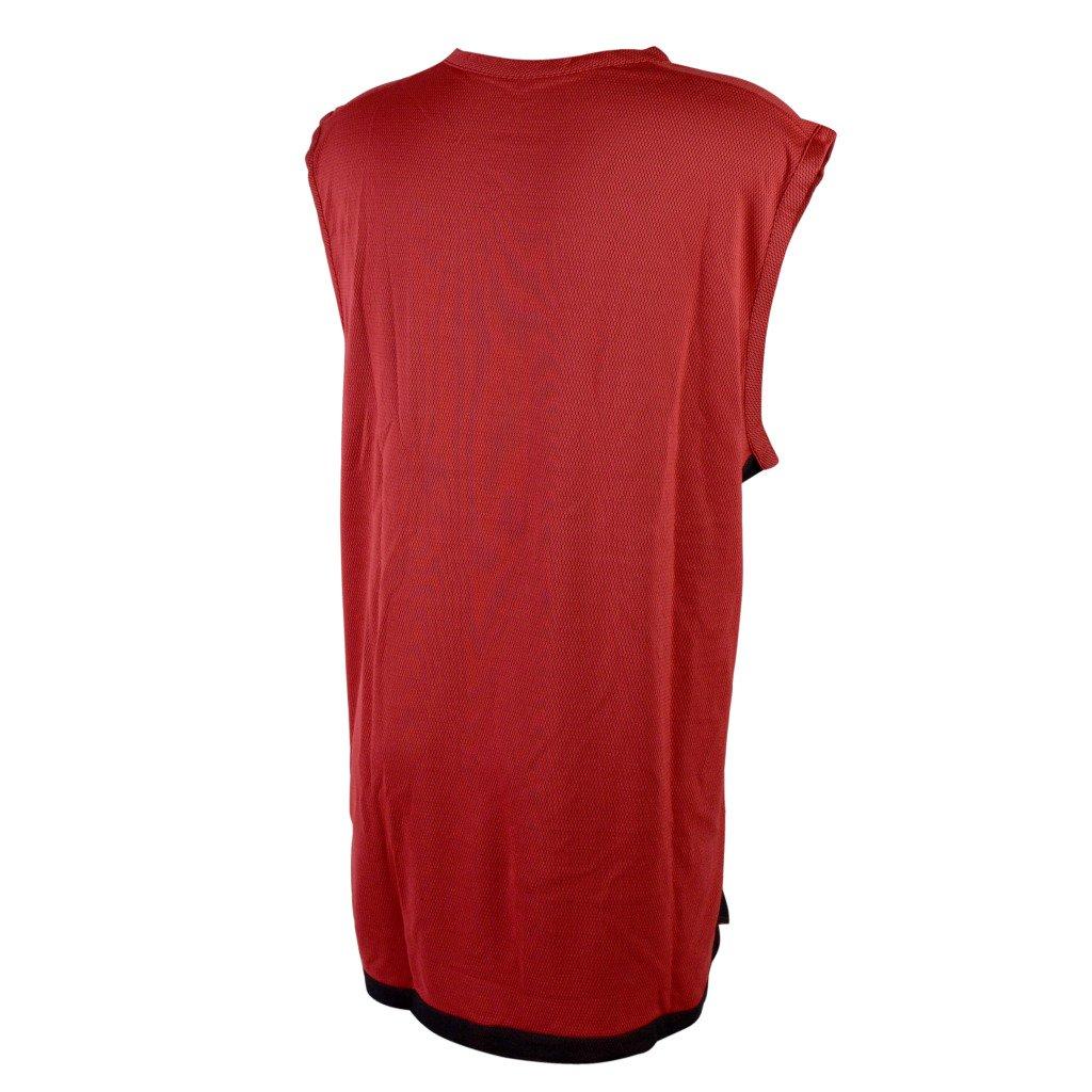 53343fb5a6736c Nike Men s Team Sports Dri-Fit Reversible Tank Basketball Sleeveless T-Shirt  3XL Reversible Red-Black