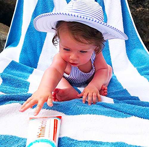 Thinkbaby Safe Sunscreen SPF 50+ - 6oz Family Size by Thinkbaby (Image #2)